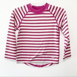 Patagonia | Girls Striped Long Sleeve Top Small/8
